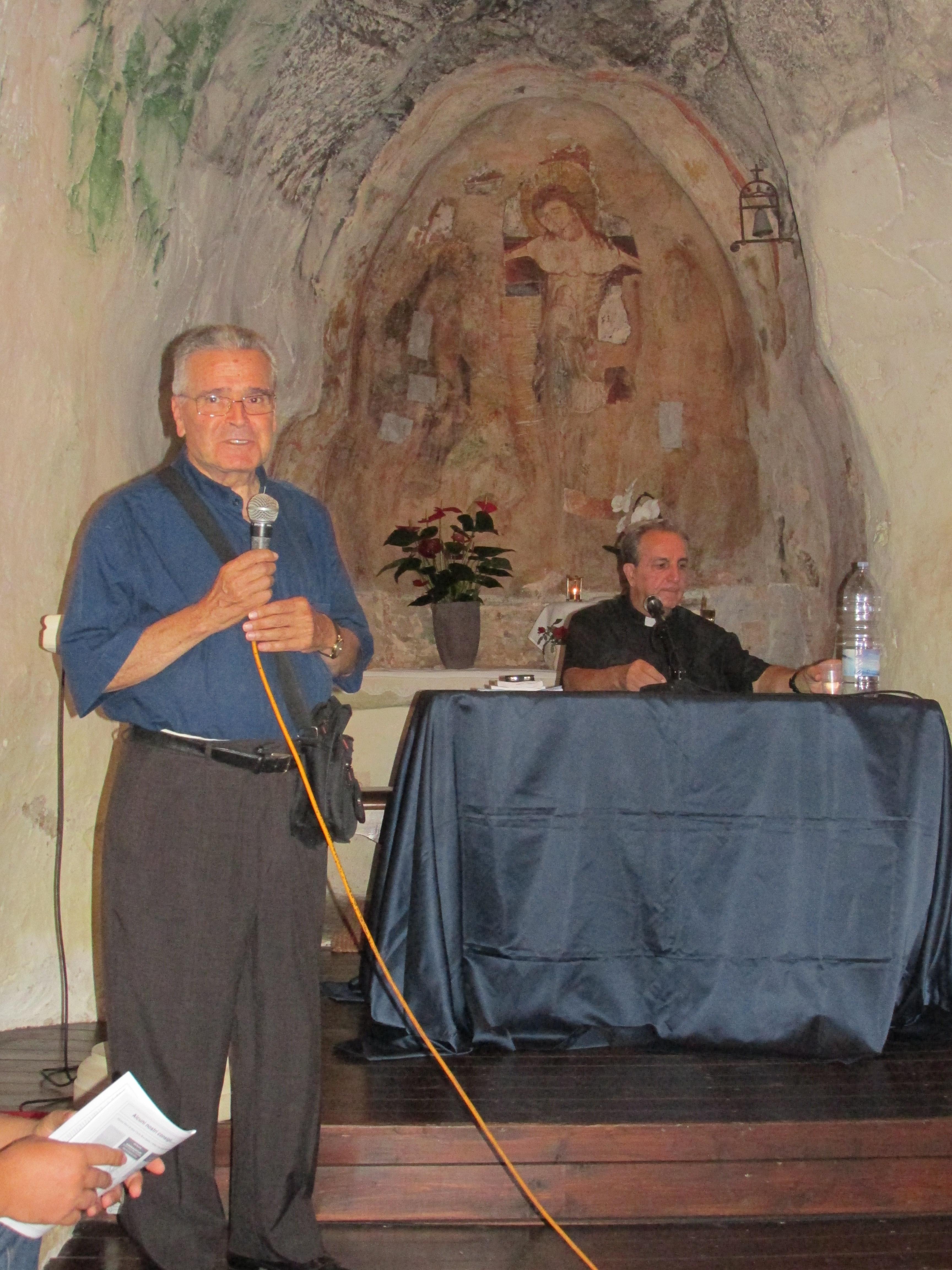 Don Carlo Rocchetta e Don Luigi Ferilli